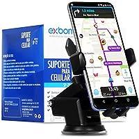 Suporte para Celular Veicular Automotivo Gruda no Painel, Vidro GPS Waze Uber Carro