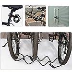 sfesnid-Lucchetto-Bici-Antifurto-per-Bici-180cm12mm-Campanello-per-Bicicletta-Blocco-della-Bici-Combinazione-a-5-Cifre-Ideale-per-Biciclette-Casco-Scooter-Cancelli
