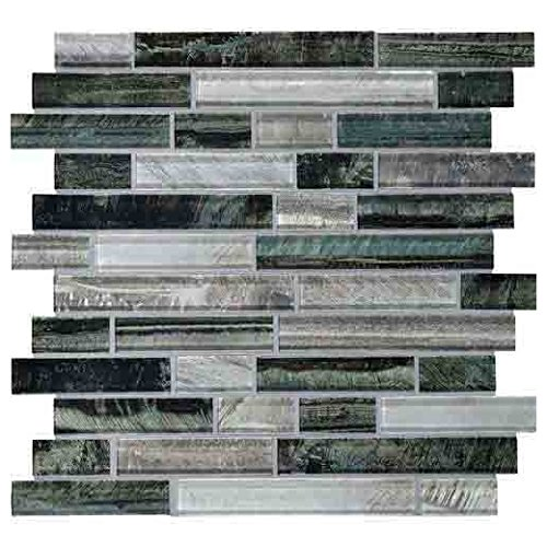 (Daltile Glass Mosaic Tiger Eye Tile Indo TE24)