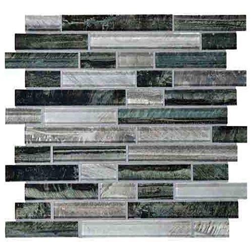 Daltile Glass Mosaic Tiger Eye Tile Indo TE24 ()