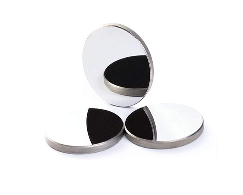 SenTECH Miroir de R/éflexion en Silicium Diam/ètre 20mm Epaisseur 3mm R/éflecteur Silicium pour CO2 Machine de d/écoupe au Laser 3PCS,