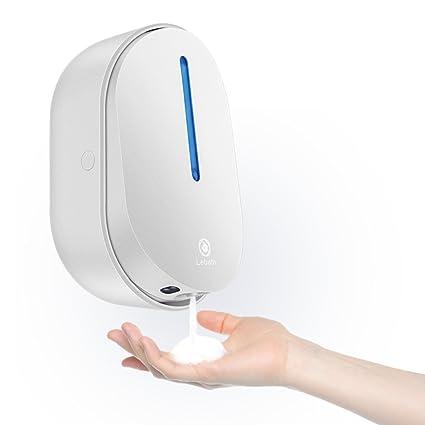 DULPLAY Dispensador automático del jabón, Acero inoxidable sin contacto, Ir infrarrojo movimiento Sensor de
