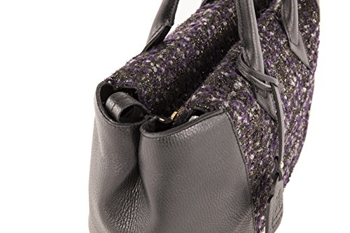 Anna Cecere - Borsa in lana e pelle - Made in Italy - Donna