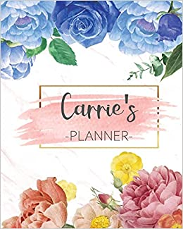 Utk Calendar 2022.Buy Carrie S Planner Monthly Planner 3 Years January December 2020 2022 Monthly View Calendar Views Floral Cover Sunday Start Book Online At Low Prices In India Carrie S Planner