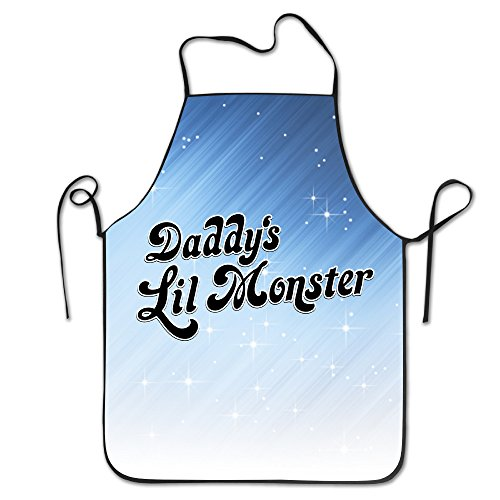 [Daddy's Lil Monster Logo Simplicity Sewing Apron One Size] (Despicable Me Costume Walmart)