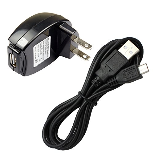 (Fenzer Black Home Wall Data Sync 6 FT Micro USB Charger Cable for LG D500 E400 E612 E980 E970 L35G L40G LS670 LS696 LS700 LS720 LS970 LW770 MS659 MS690 MS695 Optimus F6 Zone L5 G Pro Logic Extreme S Elite Slider F3 Regard M M+)