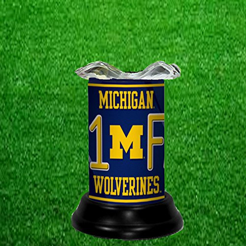 MICHIGAN WOLVERINES NCAA TART WARMER - FRAGRANCE LAMP - BY TAGZ SPORTS ()