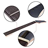 ammoon 24 Frets Replacement Maple Neck Rosewood