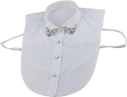 "Detachable Fold Down Collar 19/"""
