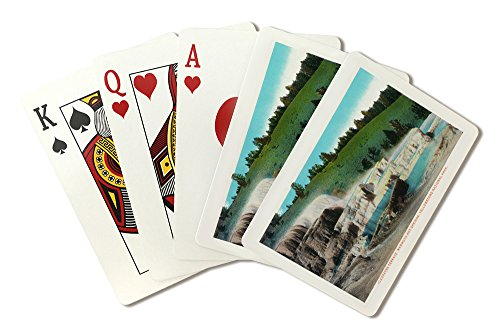 (Yellowstone National Park, Wyoming - Cleopatra Terrace, Mammoth Hot Springs (Playing Card Deck - 52 Card Poker Size with Jokers) )
