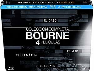 Bourne: El Caso / El Ultimatum / El Mito / El Legado (Collección Completa) [Blu-ray]