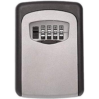 Amazon Com Tekmun Realtor Wall Mount Key Lock Box With 4