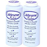 Caldesene Baby Cornstarch Powder With Zinc Oxide 5 oz (Pack of 2)