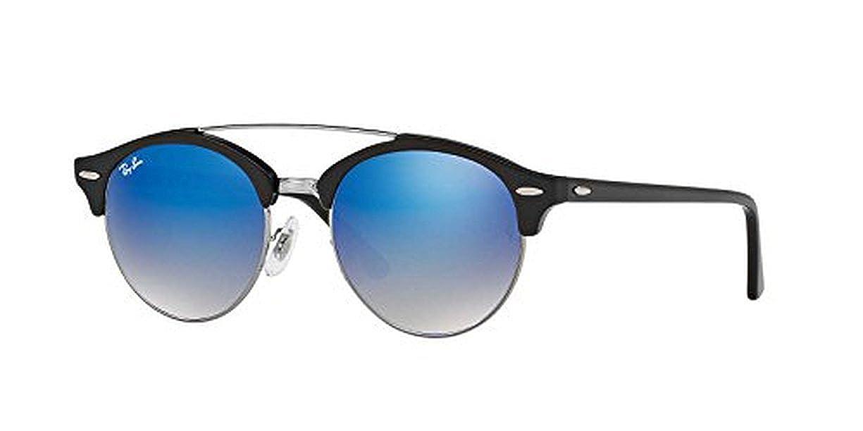 6c75f8ddb70dd Amazon.com  Ray-Ban RB4346 Sunglasses Black Green 51mm   Cleaning Kit Bundle   Clothing