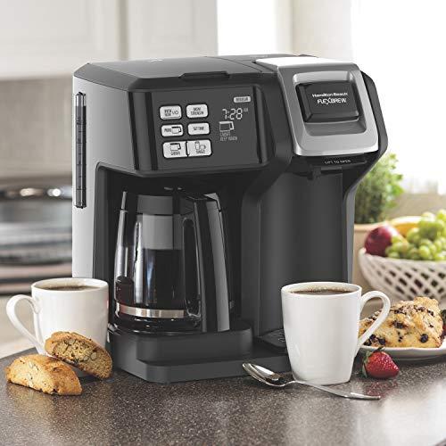 Hamilton Beach 49976 FlexBrew Coffee Maker, Black