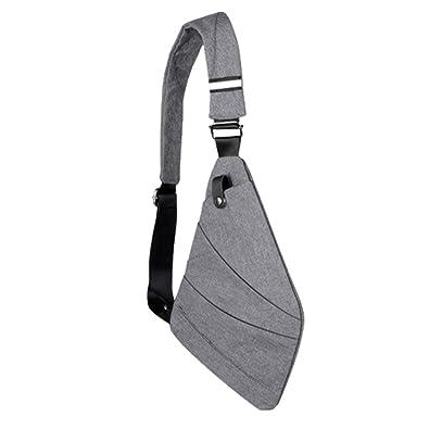 70d7a3245326 NYKKOLA New Oxford Cloth Burglar Chest Bag - Outdoor Waterproof ...