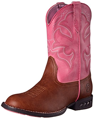 Roper Kids Girl's Lightning (Toddler/Little Kid) Light Beige/Pink 9 Toddler M]()