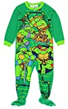 5t ninja turtle pajamas - Teenage Mutant Ninja Turtles Little Boy Footed Sleeper Blanket Pajama Size 5T