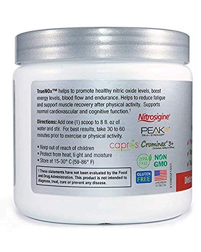 TrueNOx Nitric Oxide Pre-Workout Powder – Energy, Endurance, Performance Booster - Stimulant Free (30 Scoops) (3) by NatureCity (Image #3)