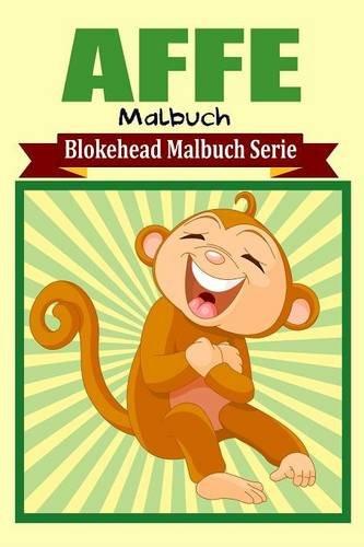Affe Malbuch  [Blokehead, Die] (Tapa Blanda)