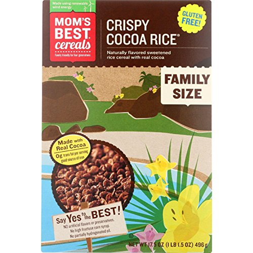 Mom's Best Cocoa Rice Crisp Cereal - 17.5 OZ