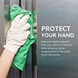Disposable Gloves, Squish Clear Vinyl Gloves Latex