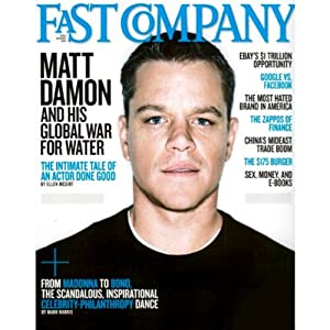 Audible Fast Company, July 2011 Periodical