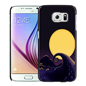 Unique Designed Cover Case For Samsung Galaxy S6 With Cartoon Landscape Under The Moonlight Phone Case Cover