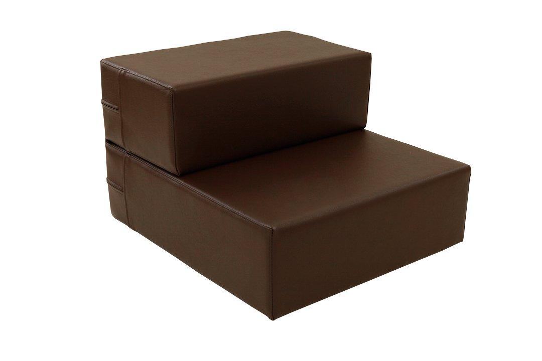 TEES FACTORY 国産 PVC レザー ドッグ ステップ CHITO-L ブラウン B01M10L56H L