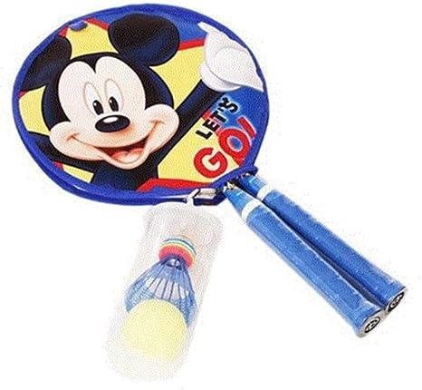 Mickey Mouse - Raqueta de bádminton Profesional para niños + 2 Pelotas de bádminton: Amazon.es: Deportes y aire libre
