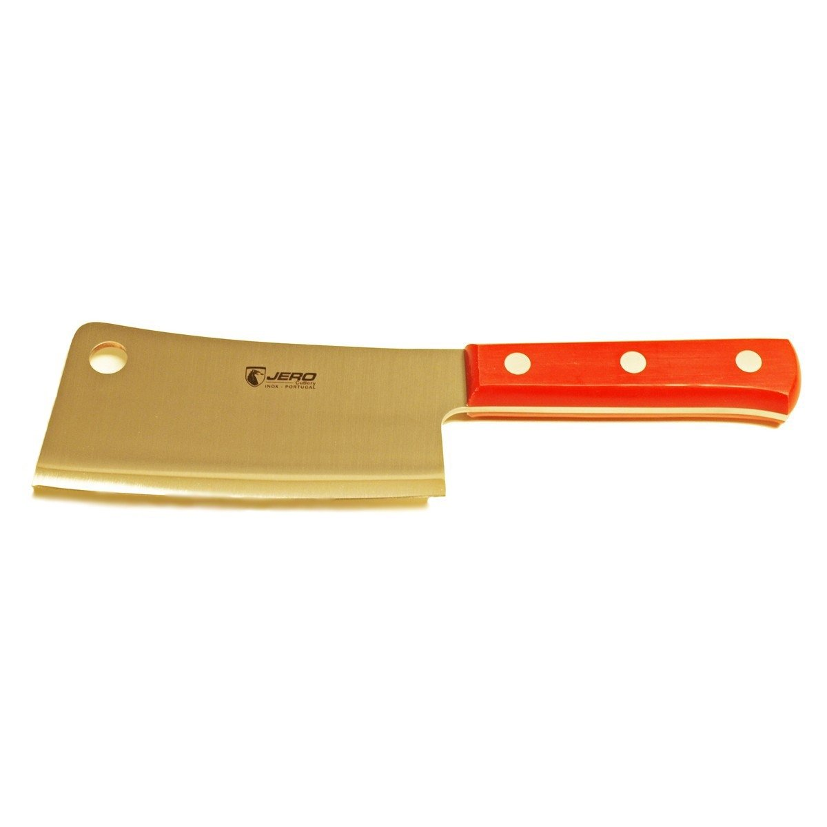 Jero 6'' Heavy-Duty Butcher Cleaver - Red