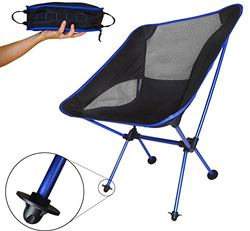 Travel Lite Camp Chair 2.0 (Deep Blue)