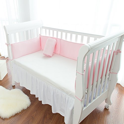 Breathable Crib Bumper With Mesh Fabric Safe Padding