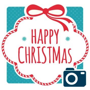 happy christmas frames