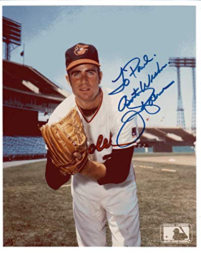 Jim Palmer 8x10 Photo Autographed TO PAUL Baltimore Orioles MLB