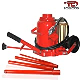 Bottle Jack 50 Ton Air & Hydraulic Bottle Jack With Wheels For Manuverability