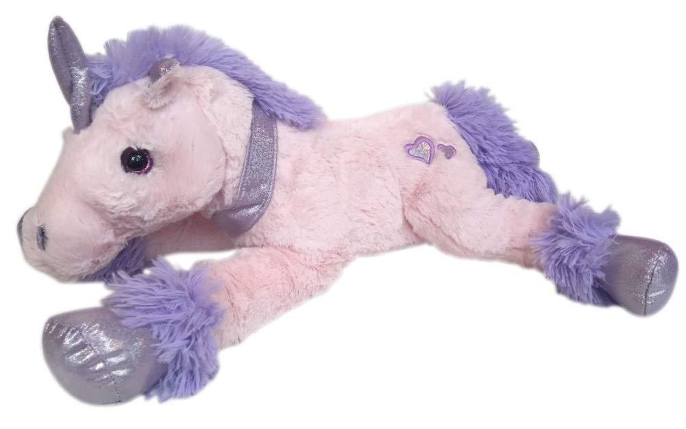 KellyToy Kelly Toy 17 Large Soft Laying Unicorn Pink