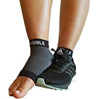 BeVisible Sports Plantar Fasciitis Socks - High Performance Compression Foot Sleeves with Arch Support for Men and Women - Helps Boost Circulation, Reduces Swellings for Foot and Heel Pain Relief