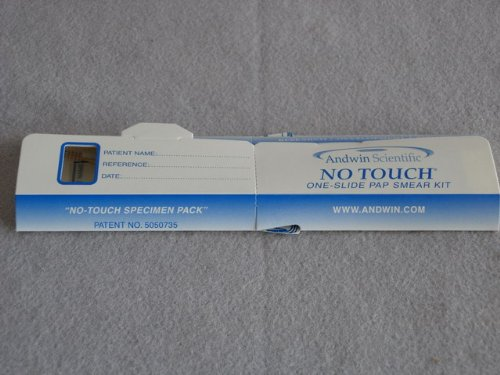 Andwin Scientific 230100 No Touch Safetex, Pap-Smear Kit (Pack of 25)