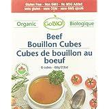 GoBIO! Organic Beef Bouillon Cubes, 6 cubes
