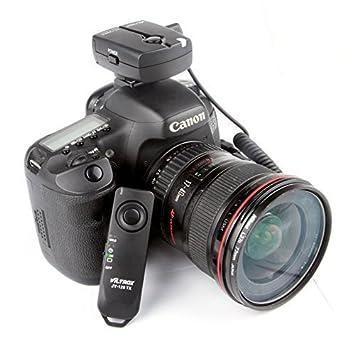 viltorx® JY-120-C1 inalámbrico disparador remoto para cámara Canon ...