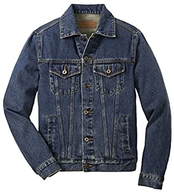 Big Men's Classic Denim Jacket, 3X, Denim Blue