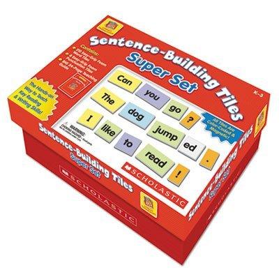 Sentence-Building Tiles Super Set, Ages 5-8, Sold as 228 Each