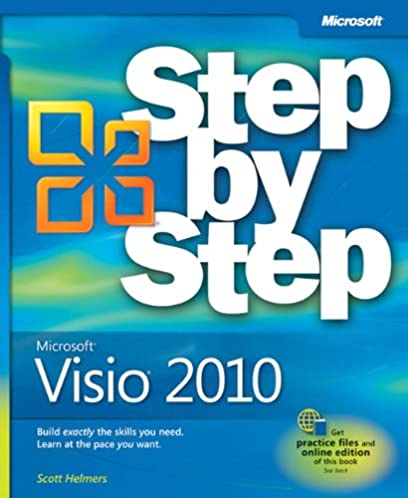 microsoft visio 2010 step by step 9780735648876 computer science rh amazon com free microsoft visio training manual Microsoft Visio Logo