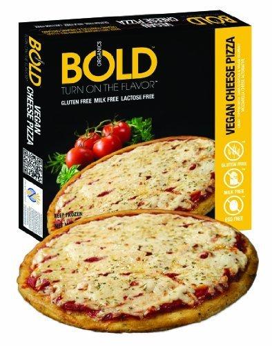 Bold Organic Vegan Cheese Pizza, 11.9 Ounce - 12 per case.