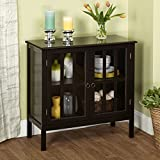 Target Marketing Systems 13080BLK Portland Cabinet, Black