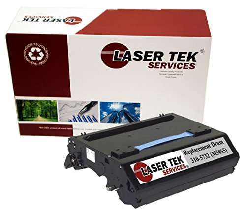 Laser Tek Services ® Dell 310-5732 (M5065) Remanufactured Replacement Drum Unit for the Dell 3000cn, 3100cn