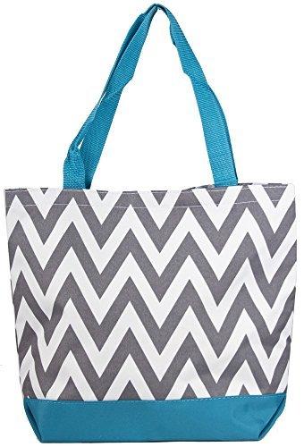 ever-moda-blue-grey-chevron-tote-bag-large-17-inch