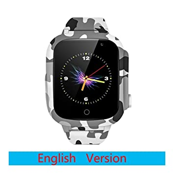 Smartwatch Reloj elegante Actividad rastreadores GPS de los niños ...