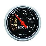 Auto Meter 3303 Sport-Comp Mechanical Boost/Vacuum Gauge